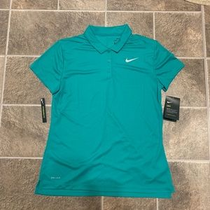 Nike Dri-Fit Polo Green